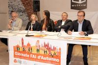 la conferenza stampa della Giornata FAI d\'Autunno