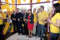 l\'inaugurazione del Mercato Urbano di Cosenza