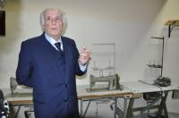 lo stilista e pittore cosentino Eugenio Carbone