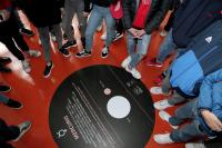 la visita di una scuola al Planetario