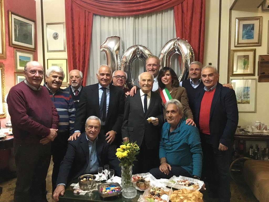 i festeggiamenti per il prof.Gallo