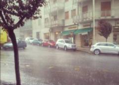 cosenza sotto la pioggia