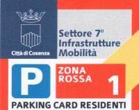 parking card proroga