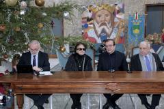 la conferenza stampa di fine anno