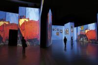 la mostra Van Gogh Alive