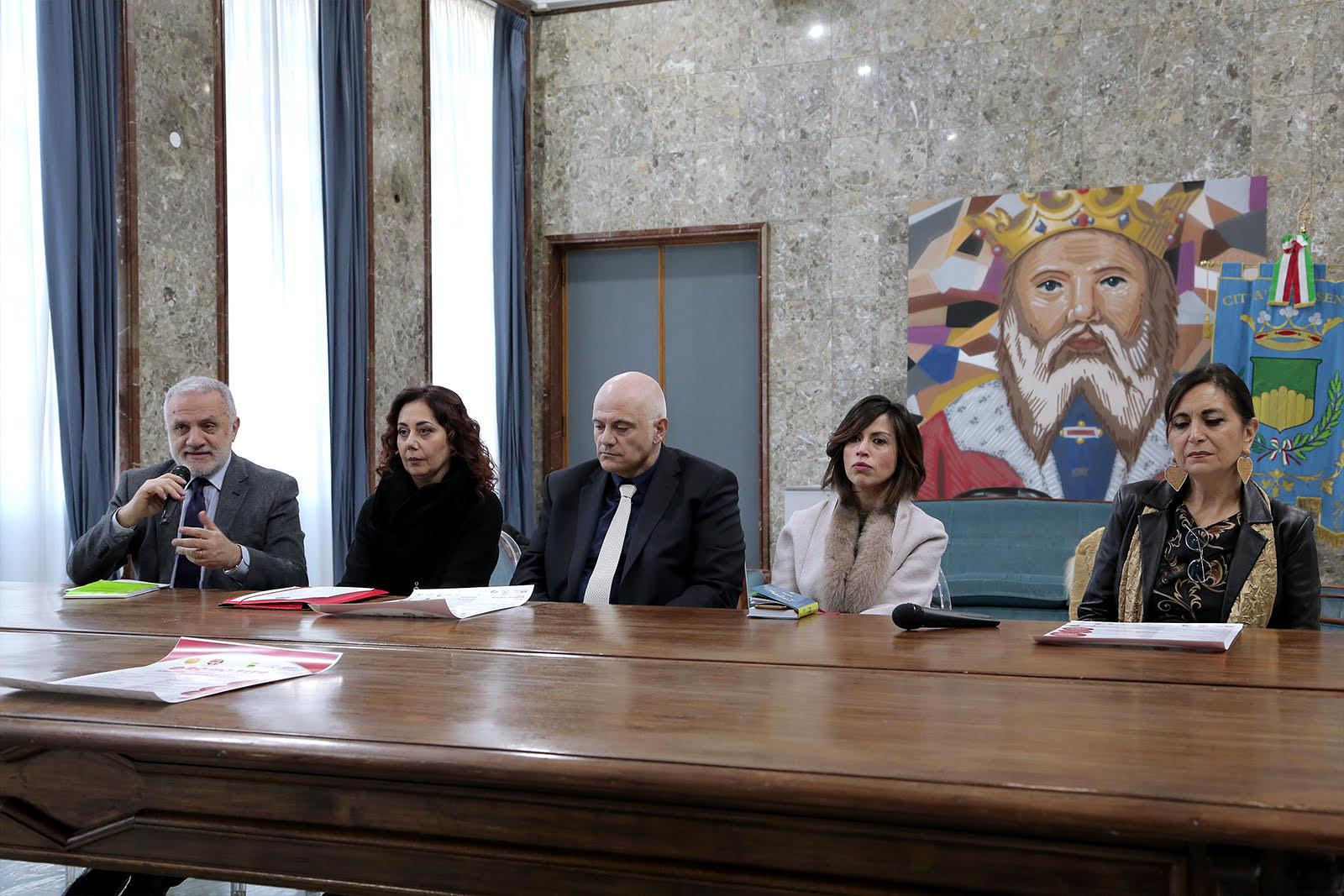 la conferenza stampa di Rosso Vita