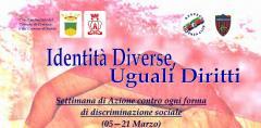 la settimana contro la discriminazione sociale