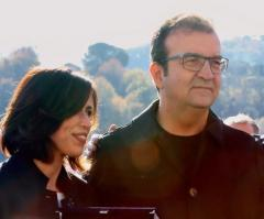 il Sindaco Mario Occhiuto e Alessandra De Rosa, as