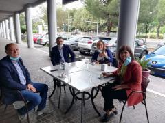gli assessori di Cosenza, Rende, Montalto e Castro