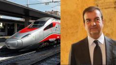 il Sindaco Occhiuto e il treno Frecciargento