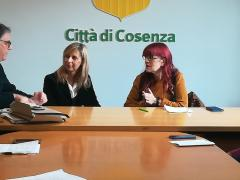 il Commissario Panizzoli e la Presidente De Marco