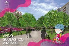 la cartolina del primo giorno di scuola 2020-2021