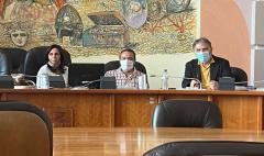 un momento della commissione lavori pubblici