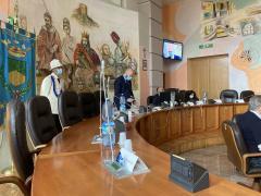 la seduta del consiglio comunale di oggi