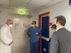 il Sindaco Occhiuto incontra il personale sanitari