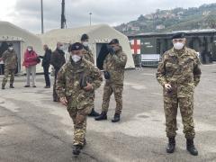 militari ospedale da campo