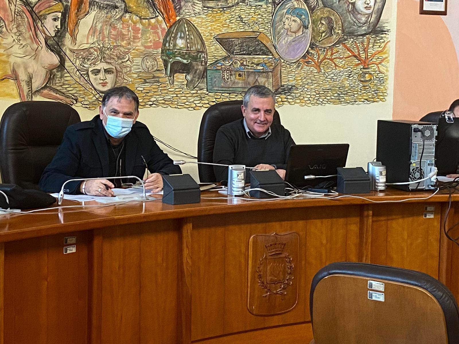 il Presidente della commissione ambiente Vincenzo