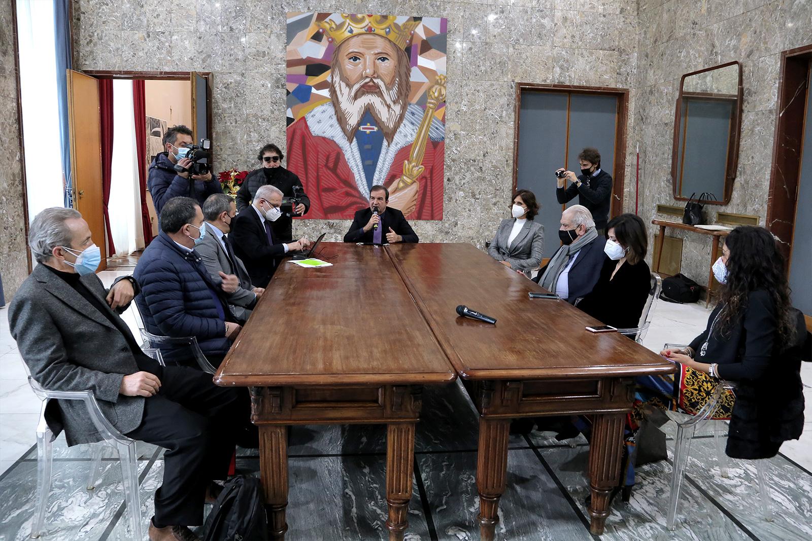 la conferenza stampa di fine anno del Sindaco Occh
