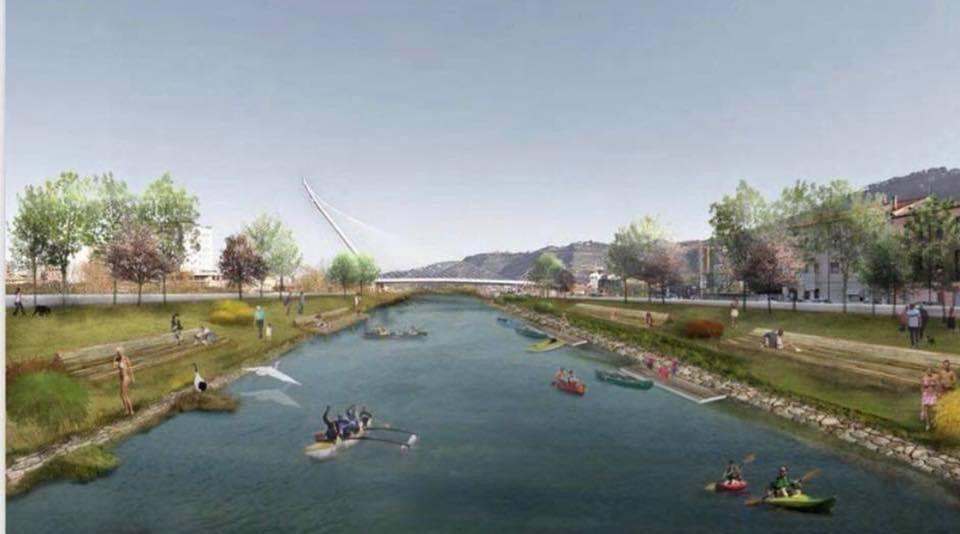 il fiume navigabile
