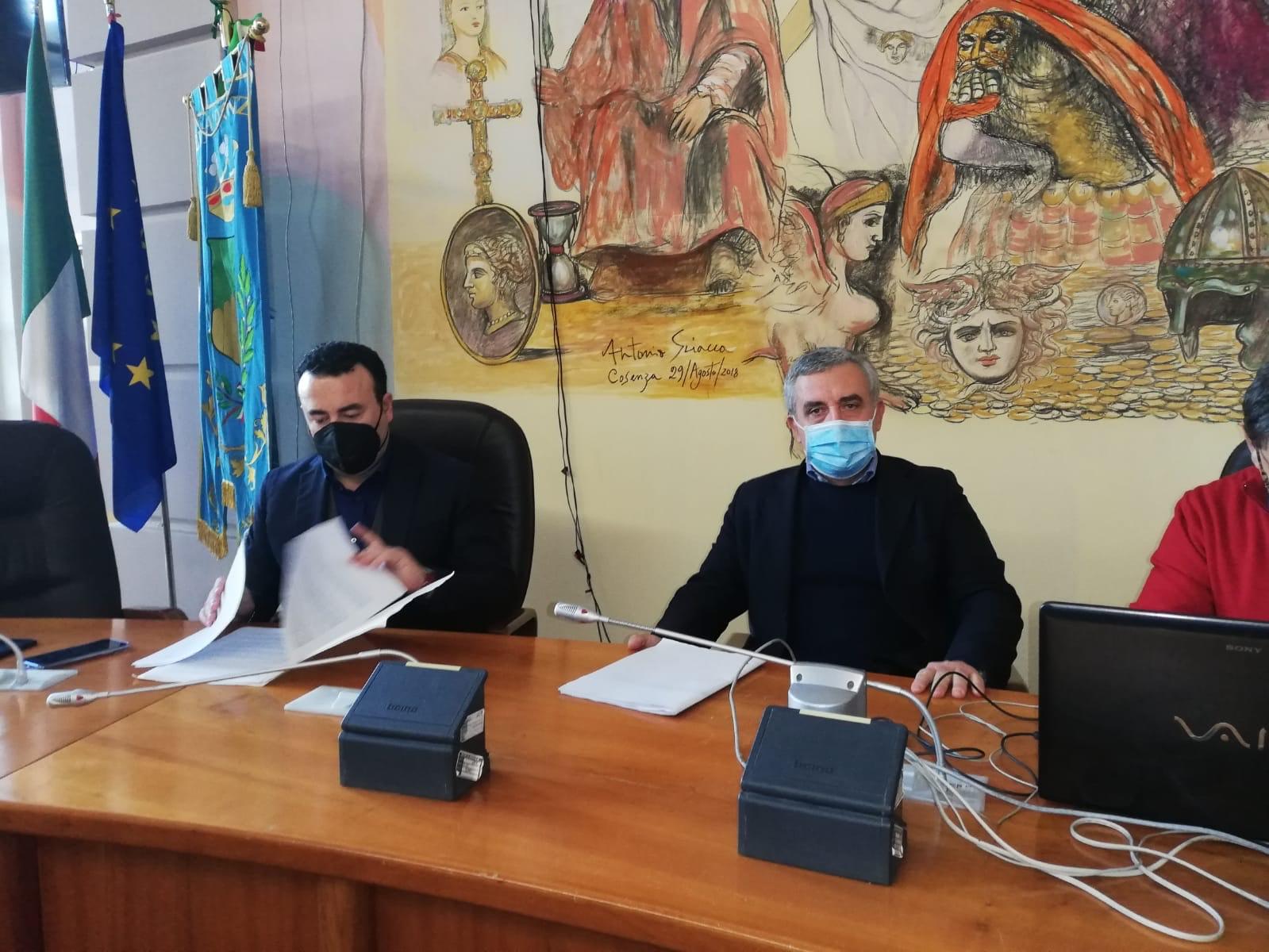 il commissario di Sorical e Vincenzo Granata