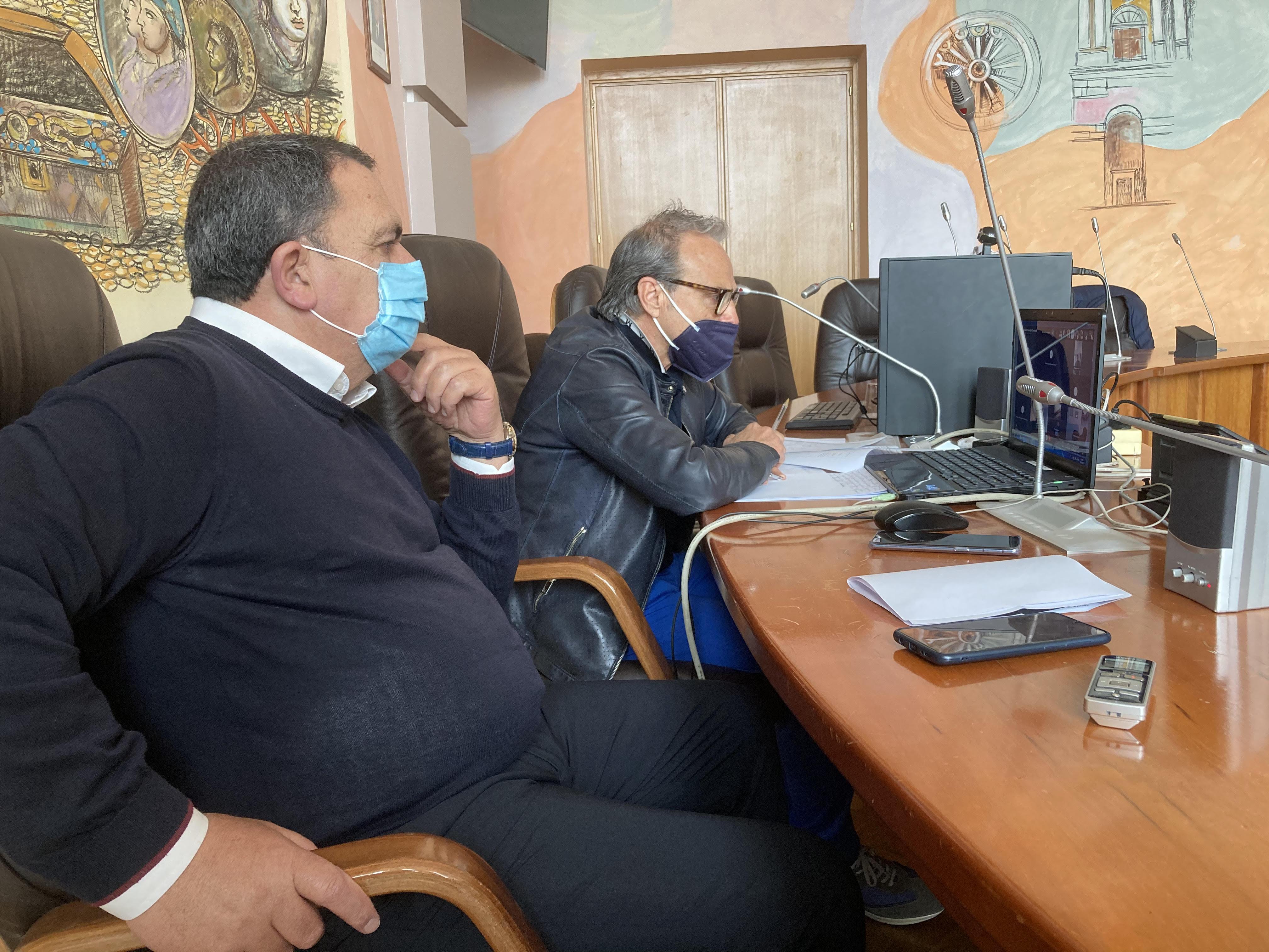la commissione trasporti con assessore Spataro