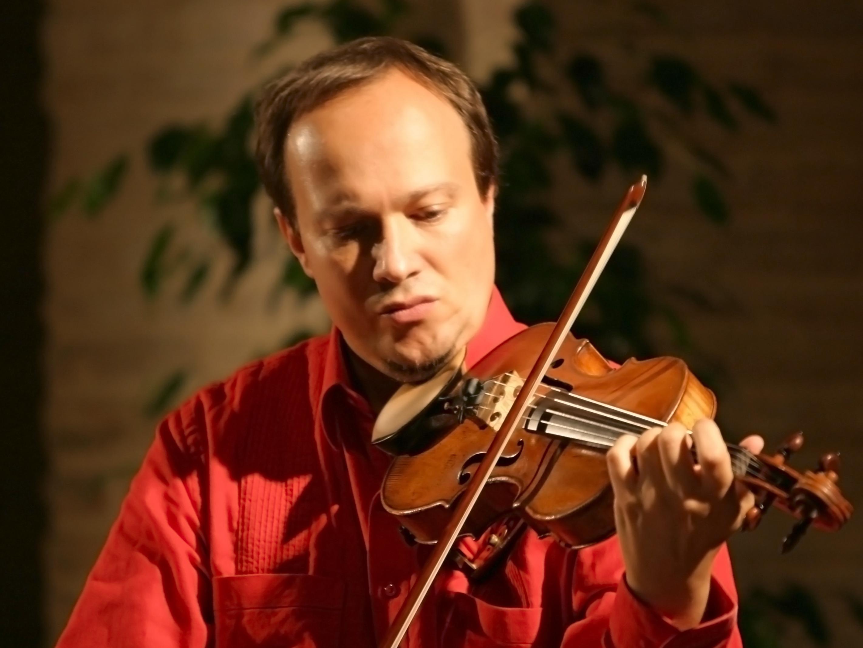 il violinista Francesco Manara