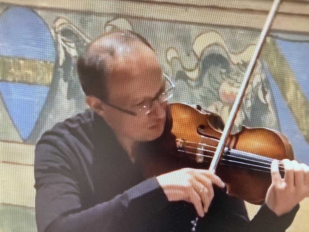 il violinista Manara