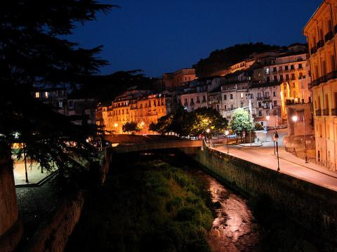 Lungo Crati, Cosenza